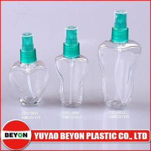 80ml Pet Plastic Bottle with Sprayer Pump (ZY01-D091) pictures & photos