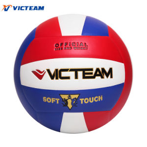 Club-Level Training Custom Logo Printed Volleyball pictures & photos