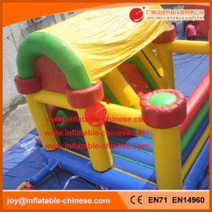 in Stock Inflatable Jumping Castle Combo for Kids with Slide (T3-401) pictures & photos