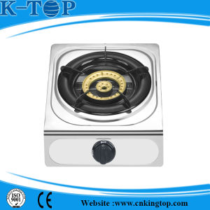 202 S/S Tabletop Gas Burner pictures & photos