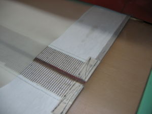 Bull Nose Joint of PTFE Belt Made of Kevlar Material pictures & photos