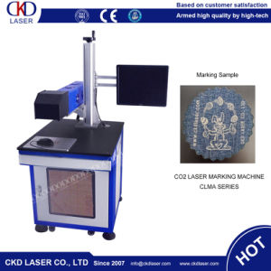 Professional CO2 Laser Marking Machine for Denim Jeans pictures & photos
