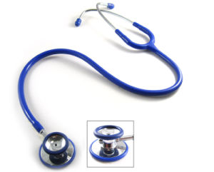 Medical Zinc Alloy Dual Head Stethoscope pictures & photos