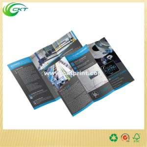 Custom Glossy Lamination Brochure Printing (CKT-BK-549) pictures & photos