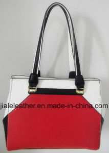 Graceful hit color PU Handbag WT0070-1