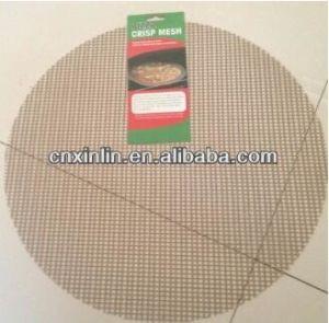 Teflon Non-Stick Mesh BBQ Grill Basket pictures & photos