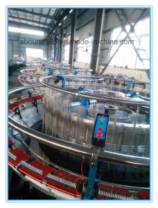Plastic Machine Six-Shuttle Rolling Column Style Circular Loom pictures & photos
