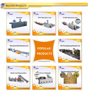 PVC Four Strand/Outlet Pipe Plastic Product Extruder Making Machine pictures & photos