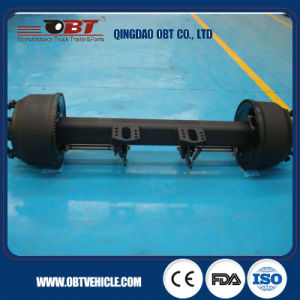 American Type 11t 13t Truck Trailer Axle for Russia Market pictures & photos