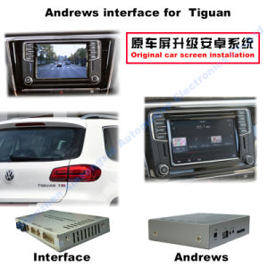 Car Video Interface for Volkswagen Sharan Tiguan Skoda Seat etc with Mib System, Android Navigation Rear and 360 Panorama Optional pictures & photos