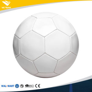 Cheap Price All Sizes Blank White Soccer Ball pictures & photos