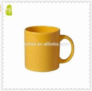 Wholesale 350ml 12oz Red Color Glazed Coffee Mug pictures & photos