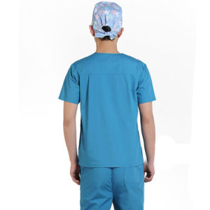Cotton Surgical Gown and Reusable Medical Uniform pictures & photos