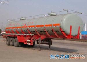 3-Axle Alumninium Alloy Liquid Tank Semi-Trailer pictures & photos