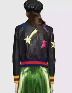 Lady′s Embroidered Suede Jacket, Clothing pictures & photos