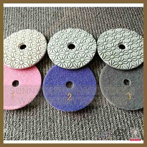 3 Step Wet Concrete Floor Polishing Pad pictures & photos