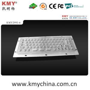 Ik07 Industrial Metal Keyboard (KMY299I-6) pictures & photos