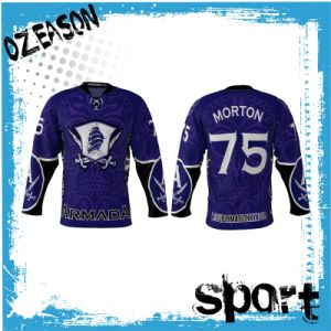 Fashion Custom Design Ice Hockey Shirts for Man (H025) pictures & photos