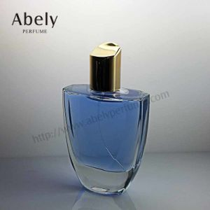 100ml Elegant European Glass Perfume Bottle with Fashionable Cap pictures & photos