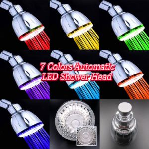 Automatic Changing LED Bath Ceiling Rain Top Shower Head pictures & photos