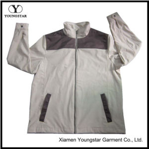 Ys-1069 Mens Boys Polar Fleece Waterproof Breathable Softshell Jacket pictures & photos