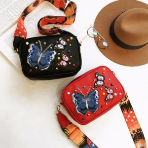 2017 New Fashionable embroidery  Butterfly Crossbody Handbags for Women pictures & photos