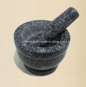 Stone Mortar and Pestle 13X10cm Supplier From China pictures & photos