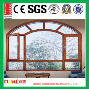 Powder Coated Customized Color Aluminum Casement Windows