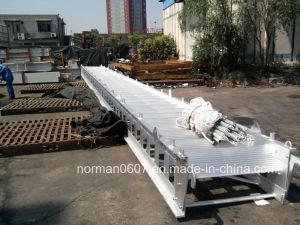 15m Module Aluminium Accommodation Ladder, Solas Chain Marine Hydraulic Gangway pictures & photos