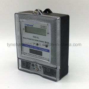 Dds-2L Single Phase Kwh Meter pictures & photos