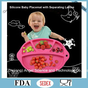 BPA Free Silicone Suction Mat, Silicone Baby Placemat Sm42