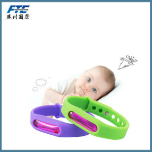 Mosquito Repellent Buckle Silicone Anti-Mosquito Bracelet pictures & photos