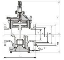 RP-1h Steam Pressure Reducing Valve (PRV) pictures & photos