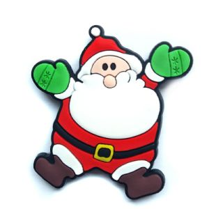 Santa Claus Shape Refrigerator Magnet Christmas Gift for Children (SC-126) pictures & photos