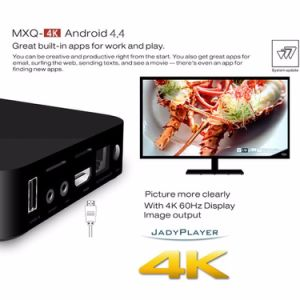 2017 Hotselling Mxq PRO TV Box 4k S905X Android6.0 TV Box Supporting Kodi 17.1 pictures & photos