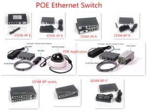 4 8 16 24 Ports 100m Poe Ethernet Switch Poe pictures & photos