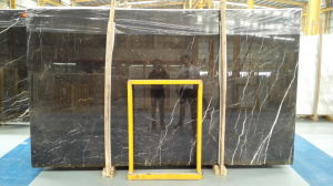 Stock A Grade St Laurent Brown Marble Slabs pictures & photos