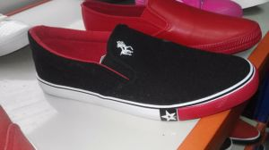 Canvas Shoes Casual Rubber Sole Flat pictures & photos
