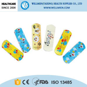 Disposable Printed Cartoon Band Aid Plaster pictures & photos
