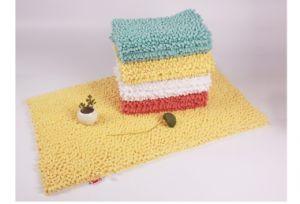 New Design Eco-Friendly Microfiber Chenille Bath Mat