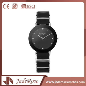 Ladies Fashion Round Dial Shape Stainless Steel Watch pictures & photos