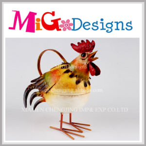 Wholesale High Quality Metal Craft Cock Yard Decoration pictures & photos
