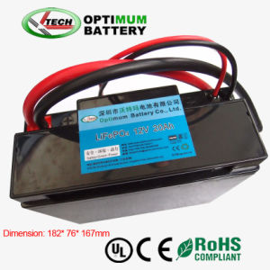 Lithium Iron Phosphate Batteries 12V 20ah Golf Trolley Motor Battery pictures & photos