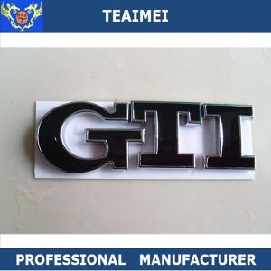 GTI Car ABS Chrome 3D Custom Letters Sticker Badge Emblem pictures & photos