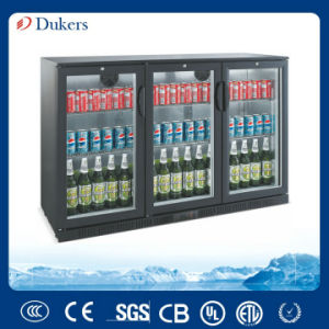 3 Doors Beer Cooler, Bar Fridge, Beer Chiller From China Manufacturer