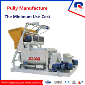 Pully Manufacture Zhaoyang Electric Motor Twin Shaft Large Mixer (JS500-JS1500) pictures & photos