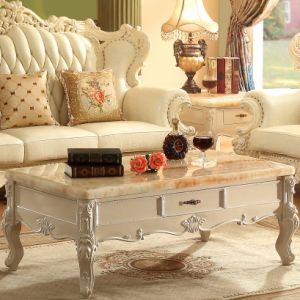 Wood Sofa for Living Room Furniture and Home Furniture (523) pictures & photos