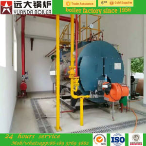 1ton 2ton 3ton 4ton Three Pass Fire Tube Wet Back Oil and Gas Fired Steam Boiler pictures & photos