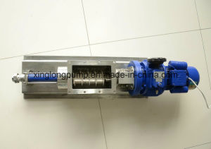 Single Screw Pump with an Open Hopper Used for Dehydrated/Dewatered Syrup or Dewatered Sludge pictures & photos