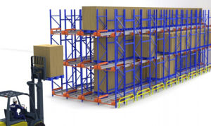 China Supply Heavy Duty Radio Shuttle Pallet Rack pictures & photos